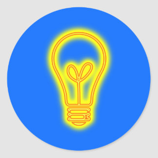 Lightbulb Sticker