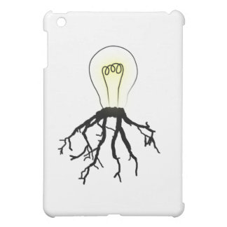 Lightbulb with Roots Cover For The iPad Mini