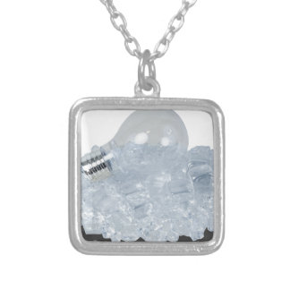 LightBulbIceCu bes083114 copy.png Silver Plated Necklace