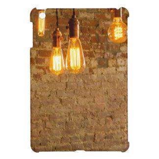 Lightbulbs Background iPad Mini Case