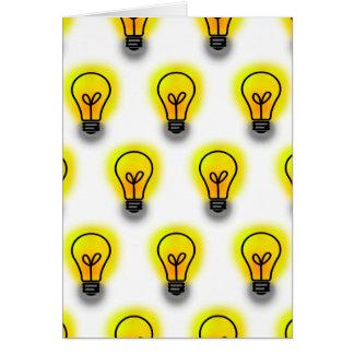 Lightbulbs Card