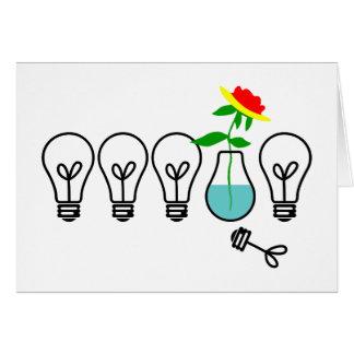 Lightbulbs! Greeting Card