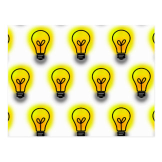 Lightbulbs Postcard