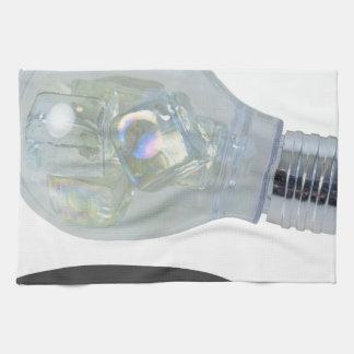 LightBulbWithIceBlocks083114 copy.png Kitchen Towel