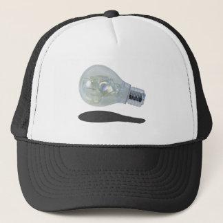 LightBulbWithIceBlocks083114 copy.png Trucker Hat