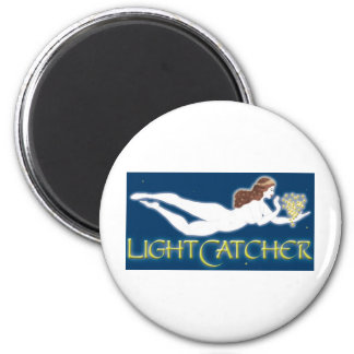 LightCatcher White Goddess Refrigerator Magnet