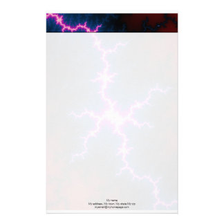 Lightcleave - Fractal Art Stationery
