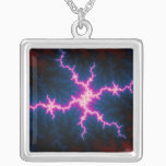 Lightcleave Silver Plated Necklace