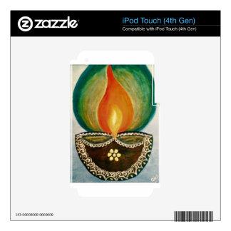 lighted diya iPod touch 4G skin