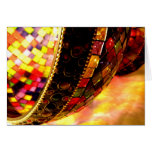 Lighted Glass Greeting Card