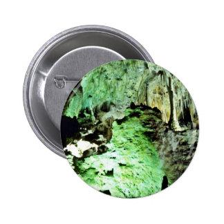 Lighted Interior Of Carlsbad Caverns National Park Pins