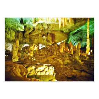 Lighted Interior Of Carlsbad Caverns National Park 5x7 Paper Invitation Card
