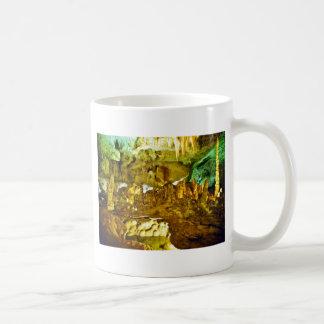 Lighted Interior Of Carlsbad Caverns National Park Classic White Coffee Mug