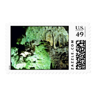 Lighted Interior Of Carlsbad Caverns National Park Postage