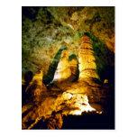 Lighted Interior Of Carlsbad Caverns National Park Post Card