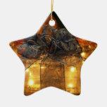 Lighted Present Ornament