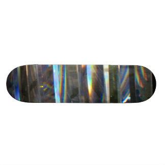 Lighted Rainbow Custom Skate Board