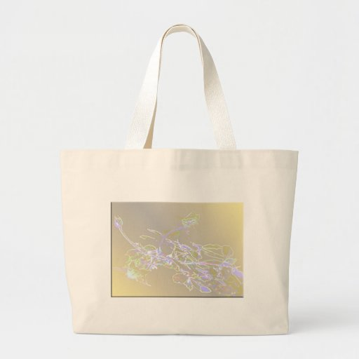 Lighted Rosebuds Canvas Bags