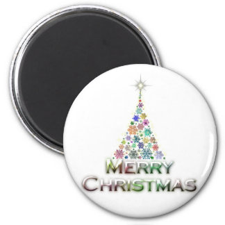 Lighted Tree Magnet