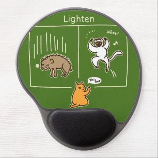 Lighten (color for dark) gel mouse pad