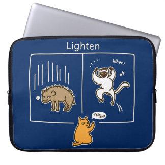Lighten (color for dark) laptop sleeve