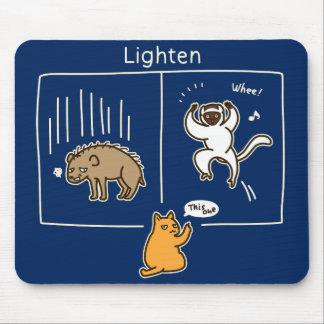 Lighten (color for dark) mouse pad