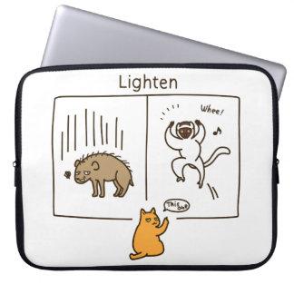 Lighten (color) laptop sleeve