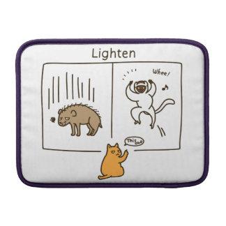 Lighten & Darken (duplex) (color) MacBook Air Sleeve
