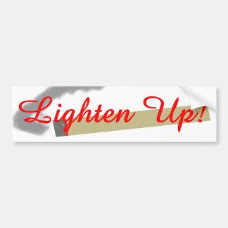 Lighten Up! Bumper Sticker