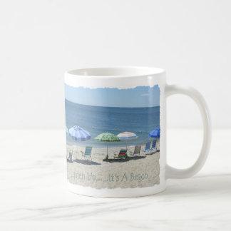 Lighten Up Mug, Guthrie Beach Coffee Mug