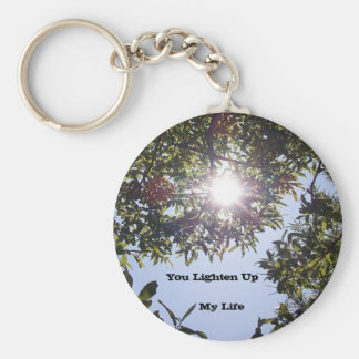 Lighten Up My Life Key Chain
