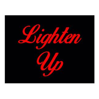 Lighten Up Postcard