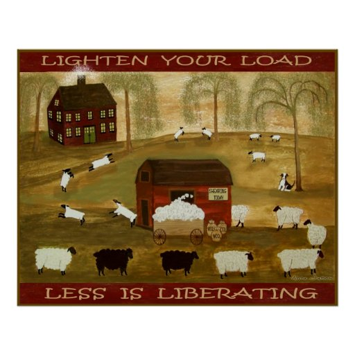 LIGHTEN YOUR LOAD 24 x 30 Print + Other Sizes