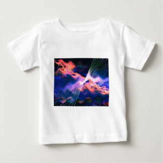 lightening above the waves baby T-Shirt