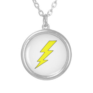 LIGHTENING BOLT PERSONALIZED NECKLACE