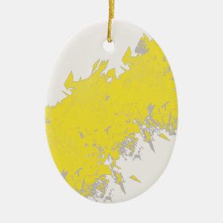 lightening ceramic ornament