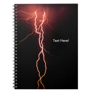 Lightening Flash image for Photo-Notebook Notebook