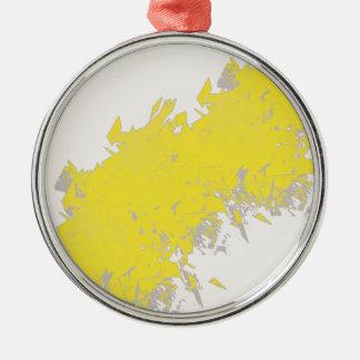 lightening metal ornament