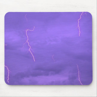 Lightening Sky Mouse Pad