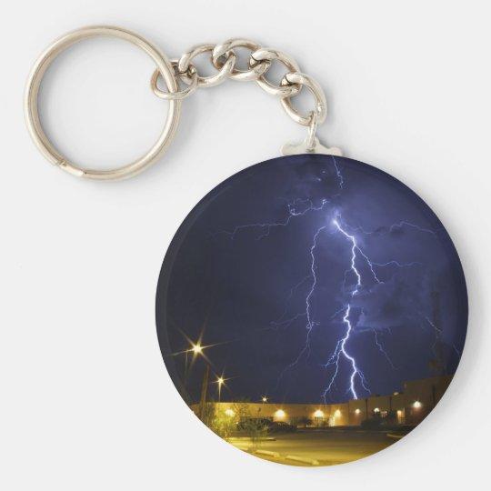 Lightening strike keychain