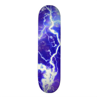 Lightening Strikes skateboard