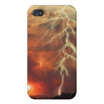 Lightening Sunset iPhone 4/4S Covers