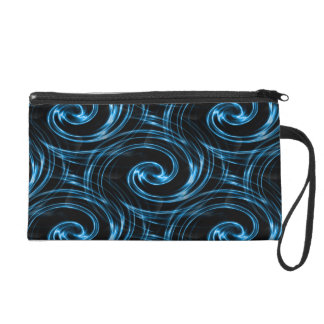 Lightening Swirl Wristlet Purse
