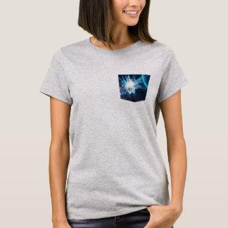 lightening thunder pocket tee t-shirt design