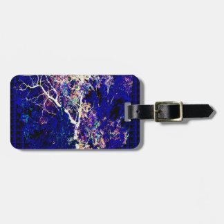 Lightening Thunderbolt TREE Sparkle Elegant Design Luggage Tags