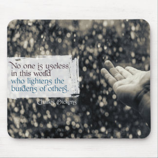 Lightens The Burdens Of Others Mouse Pad