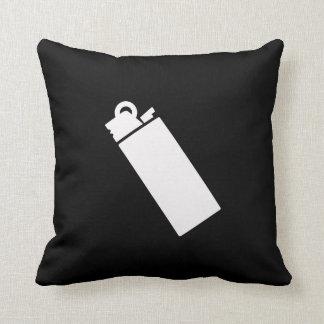 Lighter Pictogram Throw Pillow