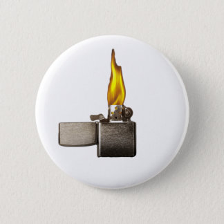 lighter pinback button