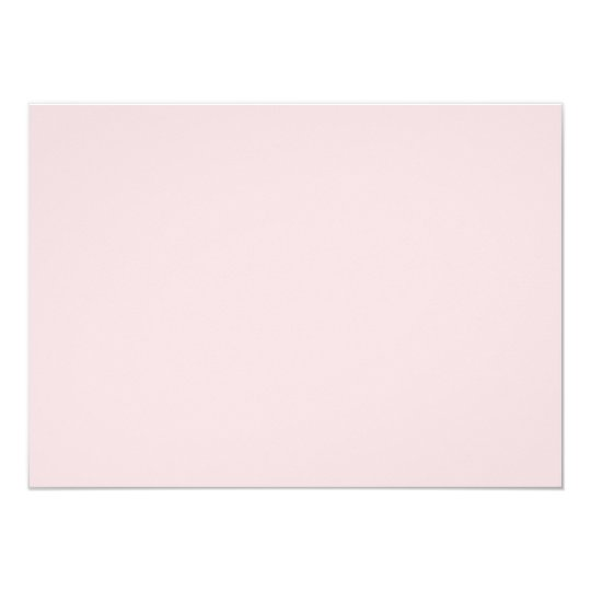 Lightest Peachy Pink Fashion Color Trend 2014 Card