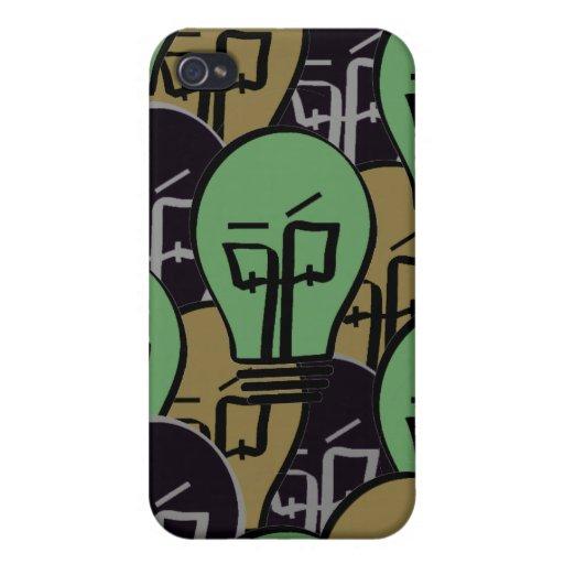 Lighthead por todo el caso del iPhone 4 iPhone 4 Carcasa